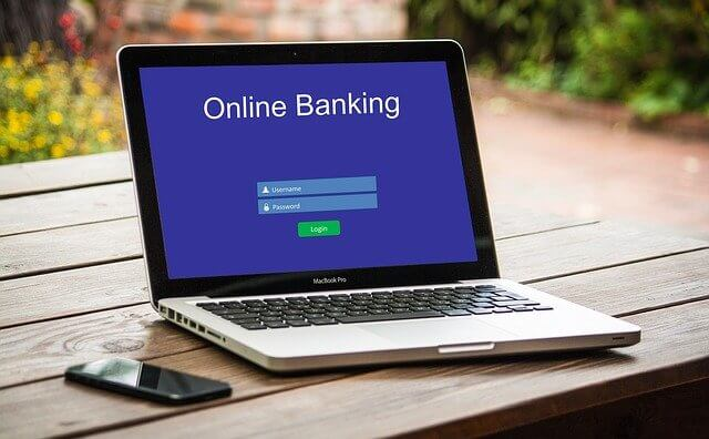online banking and payment apps